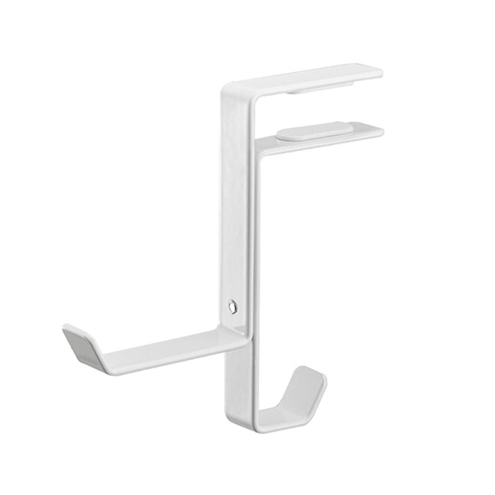 1Pc Headset Stand Hook Under Desk Universal Adjustable Headphones Hanger Bag Hanger Headphone Stand For Home Office School