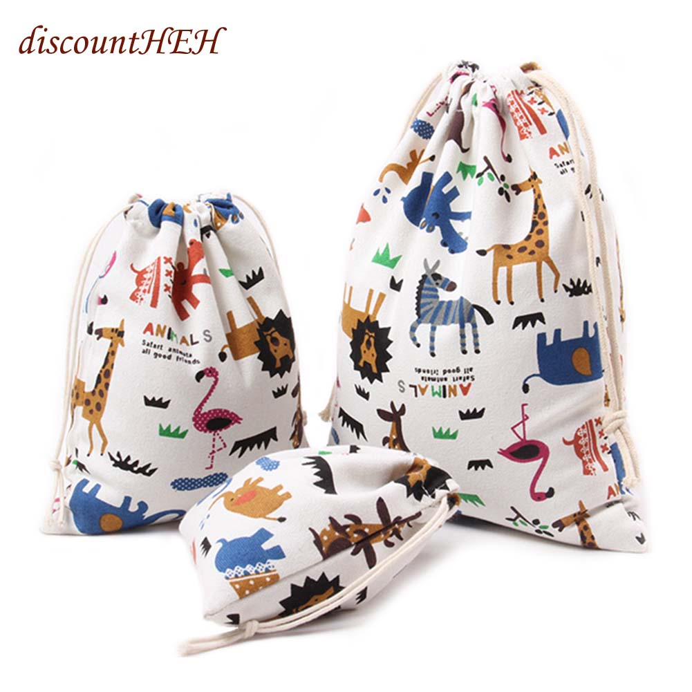 3D Digital Printing Drawstring Bag Backbag With Cute Patterns Polyester For Kids New Fashion Waterproof