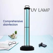 60W UVC Quartz Lamp Sterlizer DesinfectionSanitizer Ozone Portable Bulb UV Germicidal 110V Light Bulbs Tubes School Hospital