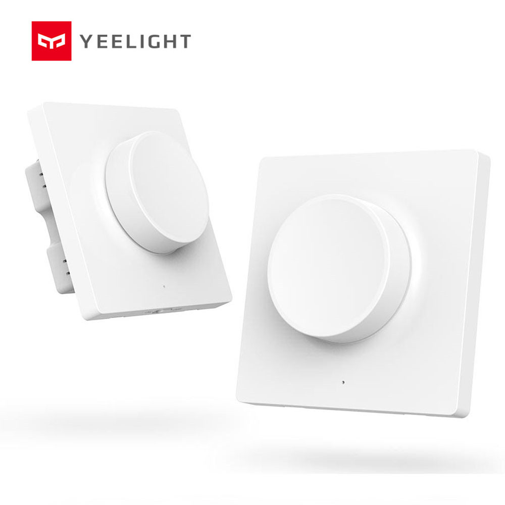 Original yeelight  smart D wall switch and smart wireless switch For smart phone app control yeelight ceiling