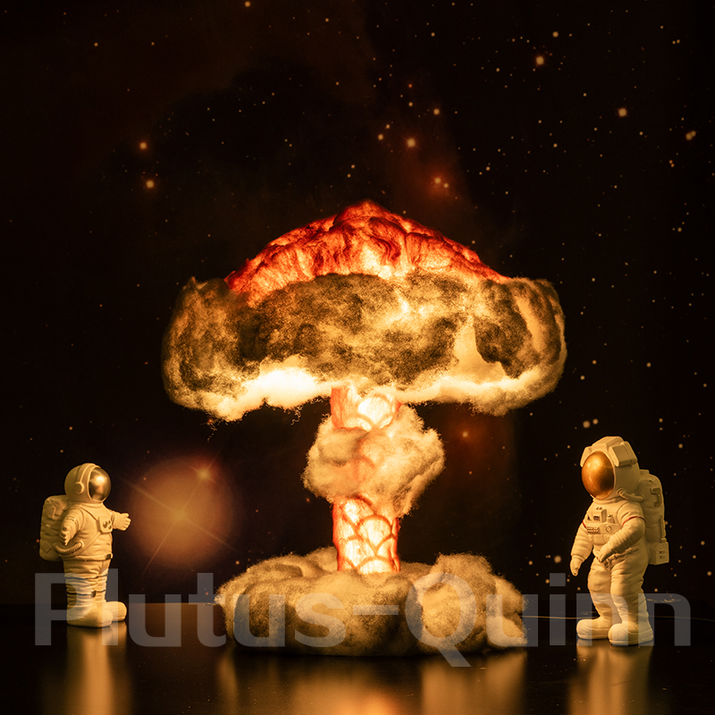 2020 New Novelty Lights Dimmable Mushroom Cloud Lamp With Cotton As Children's Gifts Room Decoration Creative Novelty Night Lamp
