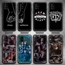 Caixa Do Telefone Para Samsung Galaxy A21S Klaus Mikaelson A01 A11 A31 A81 A10 A20E A30 A40 A50 A70 A80 A71 A51