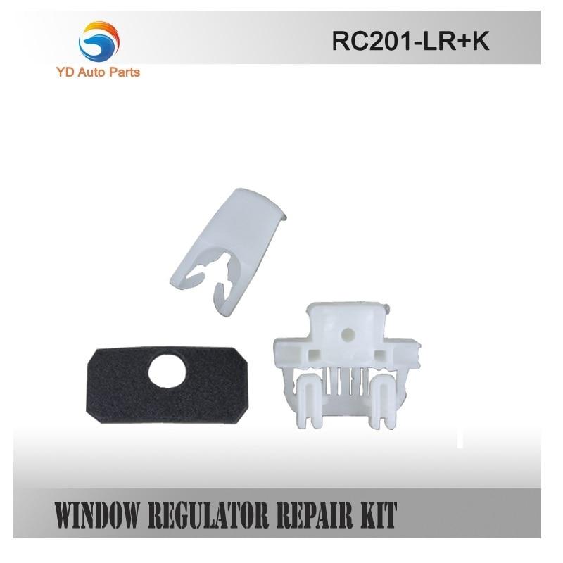 WINDOW REGULATOR COMPLETE CLIP SET FOR RENAULT CLIO II WINDOW REGULATOR REPAIR CLIP FRONT-LEFT