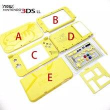 Nueva carcasa superior y descendente con funda de batería interna para New 3DS XL funda carcasa