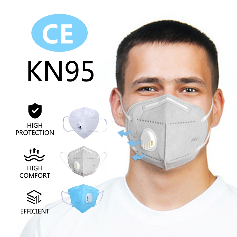 50pcs N95 Mask KN95 Mouth Masks Protective Safety As KF94 FFP3 Ffp2 Flu Anti Infection Face Particulate Respirator Health Care