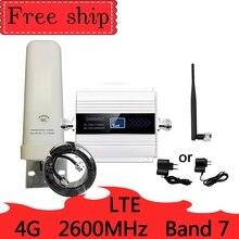 4G LTE 2600 MHz 7 Cellular สัญญาณ Booster 4G เครือข่าย Booster ข้อมูลโทรศัพท์มือถือ Repeater เครื่องขยายเสียงเสาอากาศ Omni