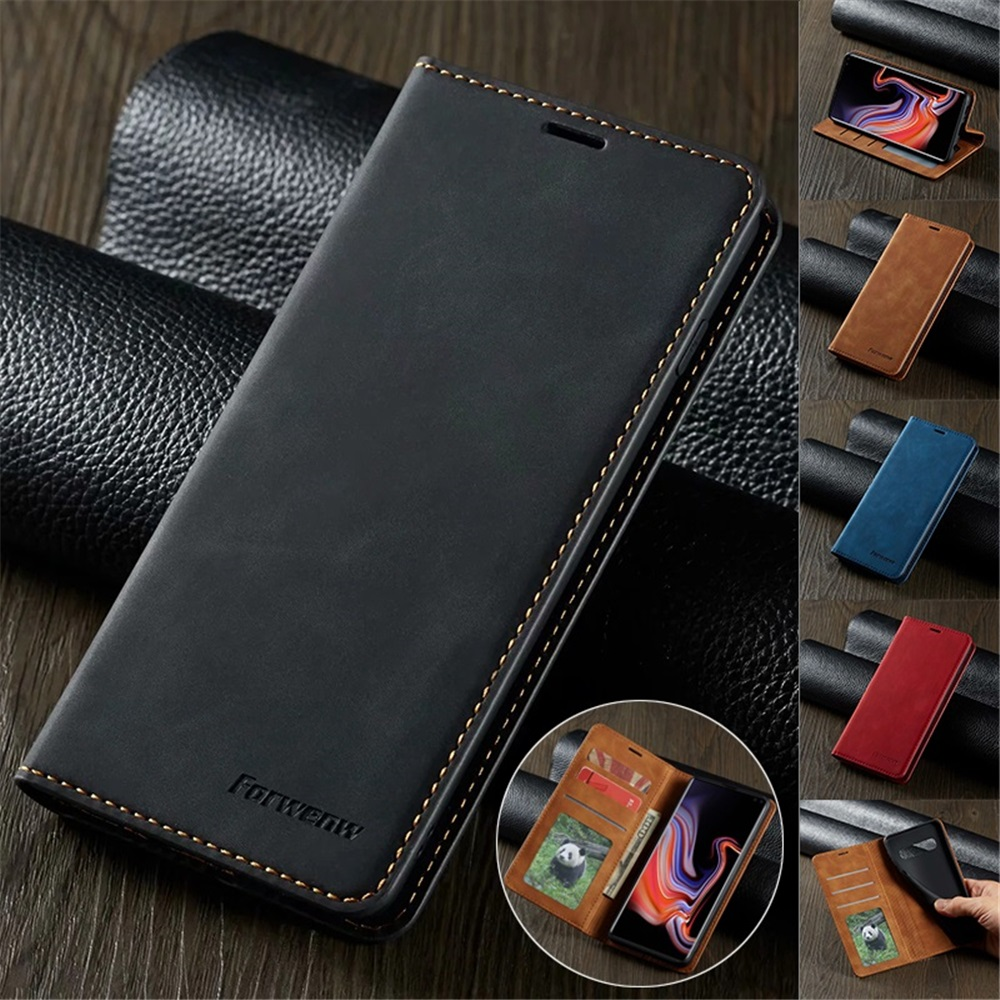 Ultra Thin Leather Case for iPhone 12 Mini 11 Pro XS Max XR 8 7 6s 6 Plus SE 2020 Suede Magnetic Flip Cover Phone Wallet Bag