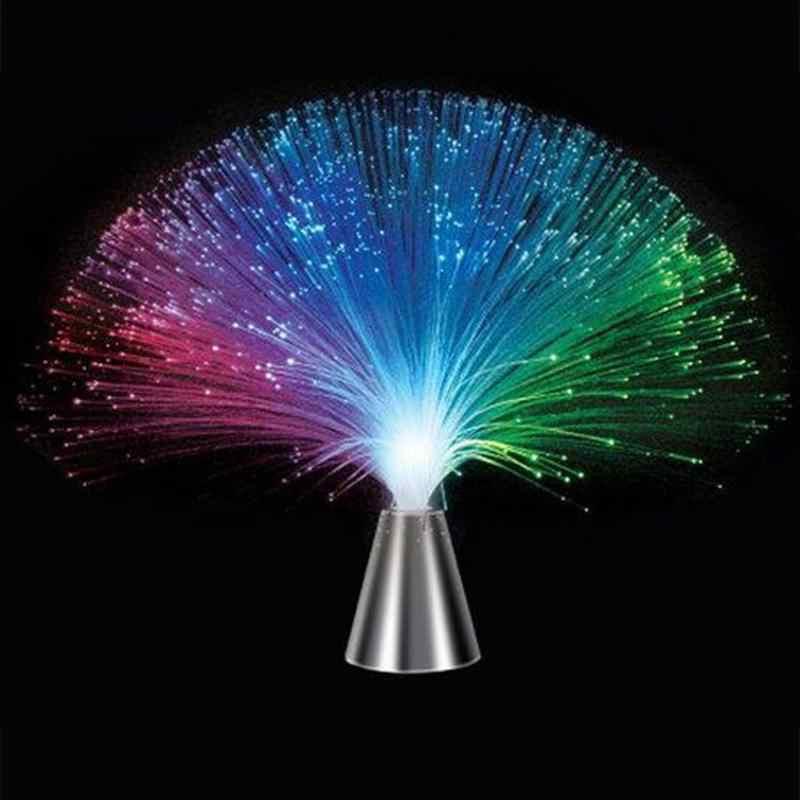 Kolorowe diody LED światłowodowe światło w kształcie kwiatów gwieździste niebo w kształcie festiwal atmosfera lampka nocna walentynki ślub dekoracje do domu na imprezę