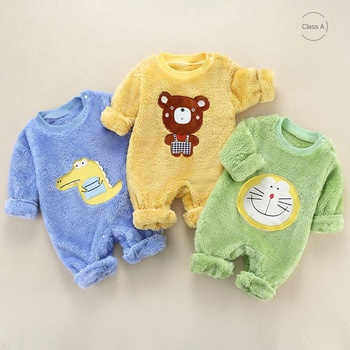Baby Romper Newborn Baby Clothes Boy Cotton Baby Onesie Autumn Winter Baby Girls Jumpsuit Infant Clothing Long Sleeve izabebe baby boys girls romper cotton long sleeve jumpsuit infant clothing autumn newborn baby clothes