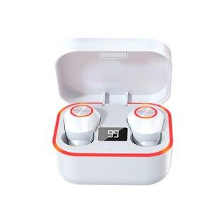 Image 5 - M8 słuchawki Bluetooth True Wireless 5.0 TWS słuchawki douszne Mini aktywne słuchawki z redukcją szumów dźwięk radia Sport słuchawka
