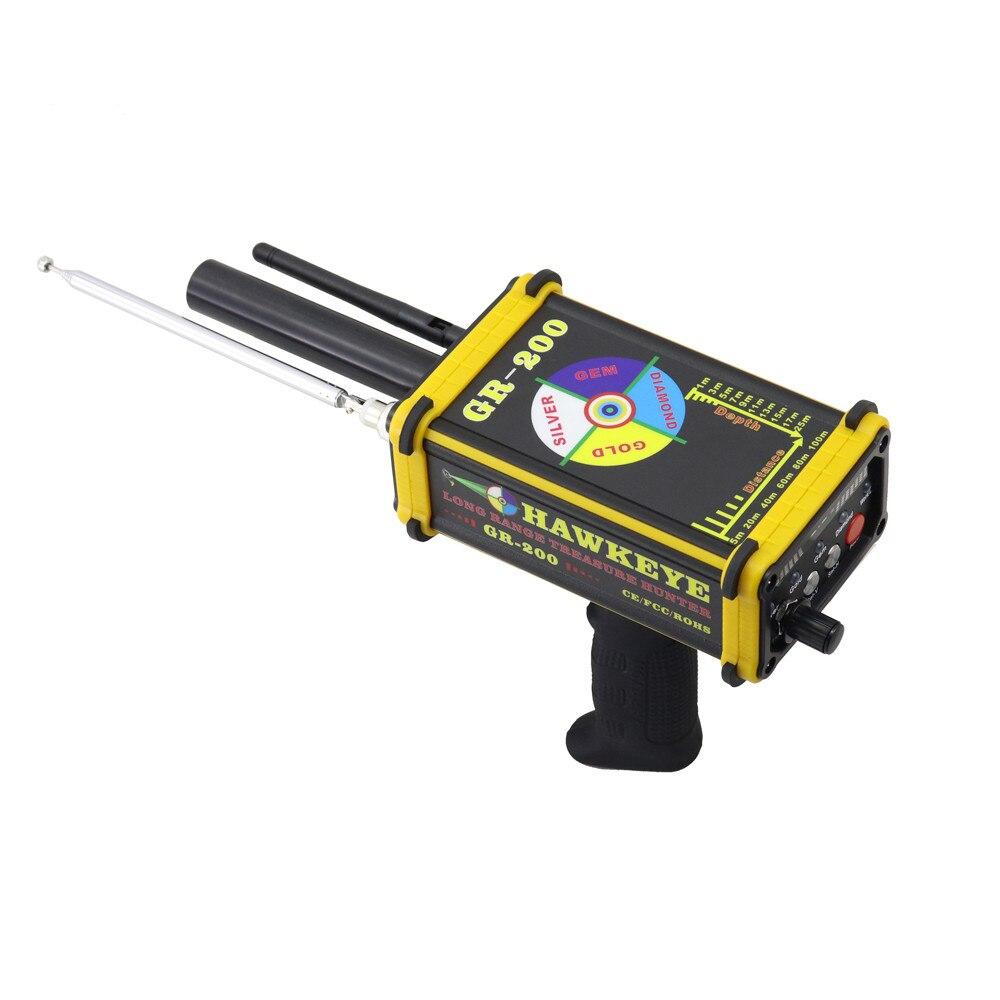 Détecteur de métaux souterrain GR-200 détecteur de pierres précieuses en argent or longue portée - 5