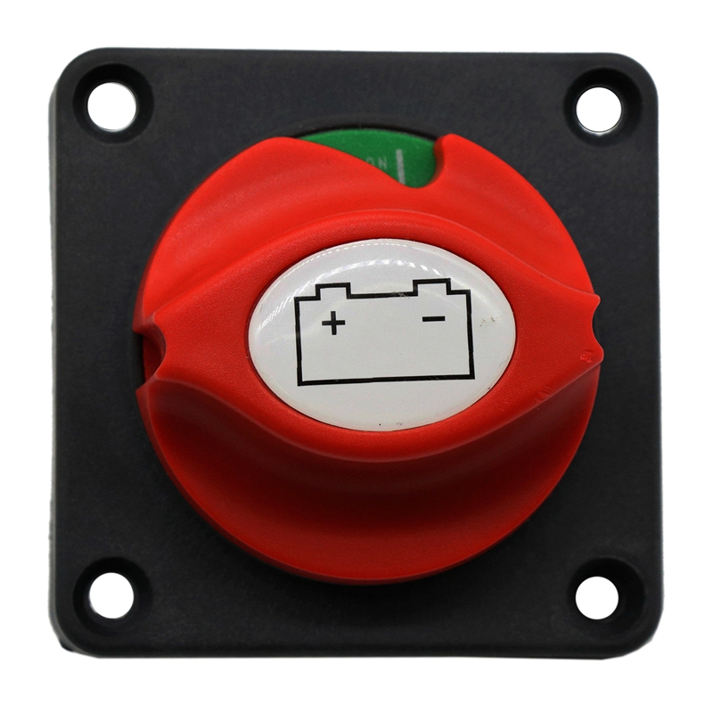 Battery Disconnect Cut On/Off Rotary Switch 12V Boat Rv Atv Marine Boat Switch image