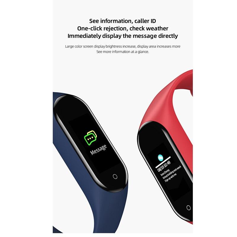Schnoah Fitness bande podomètre Bracelet intelligent moniteur de fréquence cardiaque Bracelet natation étanche montres pour xiaomi iphone téléphone - 4