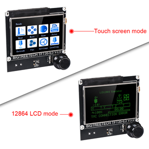 Image 5 - Placa de Control BIGTREETECH SKR MINI E3 V2 TMC2209 UART + TFT35 E3 pantalla táctil piezas de impresora 3D para Creality Ender 3/5 CR10 TFT35