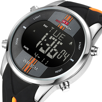 KAT-WACH2021Fashion Digital LED Display The Latest Waterproof Quartz Men Outdoor Sports Leisure Watches image