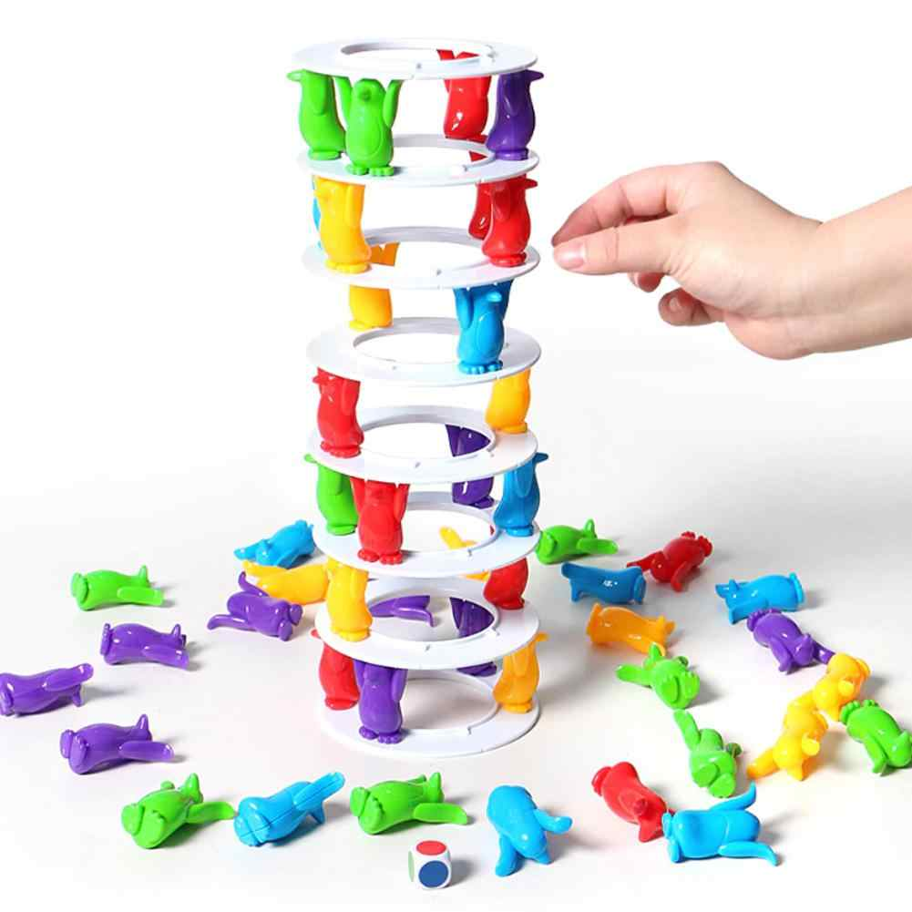 Balance Challenge Tower Stacked Intelligence Parent-child Interactive Board Game Party Games
