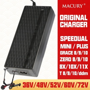 Original Charger Only For Speedual Grace Zero 8 9 10 8X 10X 11X DDM Mini Plus Electric Scooter 36V 48V 52V 60V 72V Spare Parts(China)