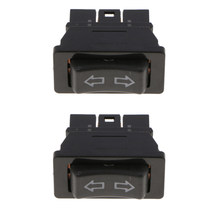 2X Dual Rijen Met Rode Led Light Driver Side Elektrische Raam Schakelaar(China)