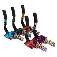 Hydraulic Horizontal Racing Drift Rally Hand E Brake Parking Handbrake Lever Car dazzle color handle pull rod five colors