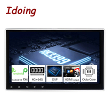 "Idoing10.2""PX6 4G+64G Android 10 For Universal Car GPS DSP Radio Player IPS Screen Navigation Multimedia Bluetooth No 2 Din DVD"