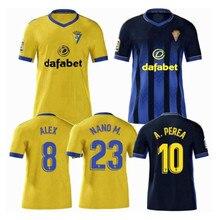 2020 2021 взрослый Кадис Футбол Джерси мужская рубашка 20 21 высокое качество LOZANO ALEX CAMISETA рубашка тренировка рубашка