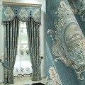 Роскошные европейские занавески на окна  стильные занавески для гостиной  элегантные занавески  европейские шторы с вышивкой