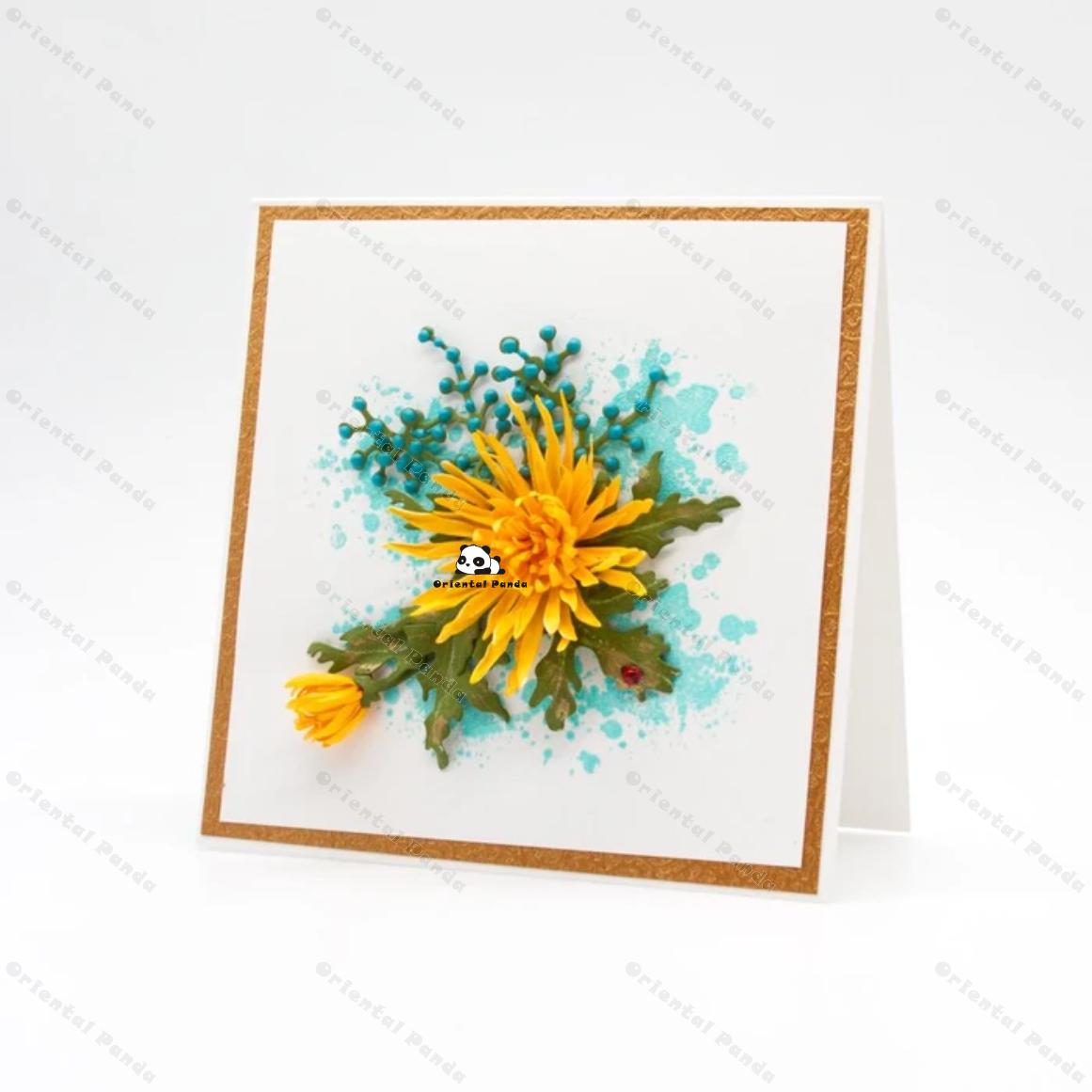 Купить с кэшбэком New Dies Very real flowers Metal Cutting Dies diy Dies photo album  cutting dies Scrapbooking Stencil Die Cuts Card Making