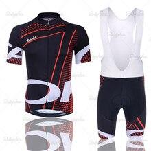 цена на Ineos Cycling Jersey 2019 Pro Team Orbeaing Cycling Clothing MTB Cycling Bib Shorts Men Bike Jersey Set Ropa Ciclismo Triathlon
