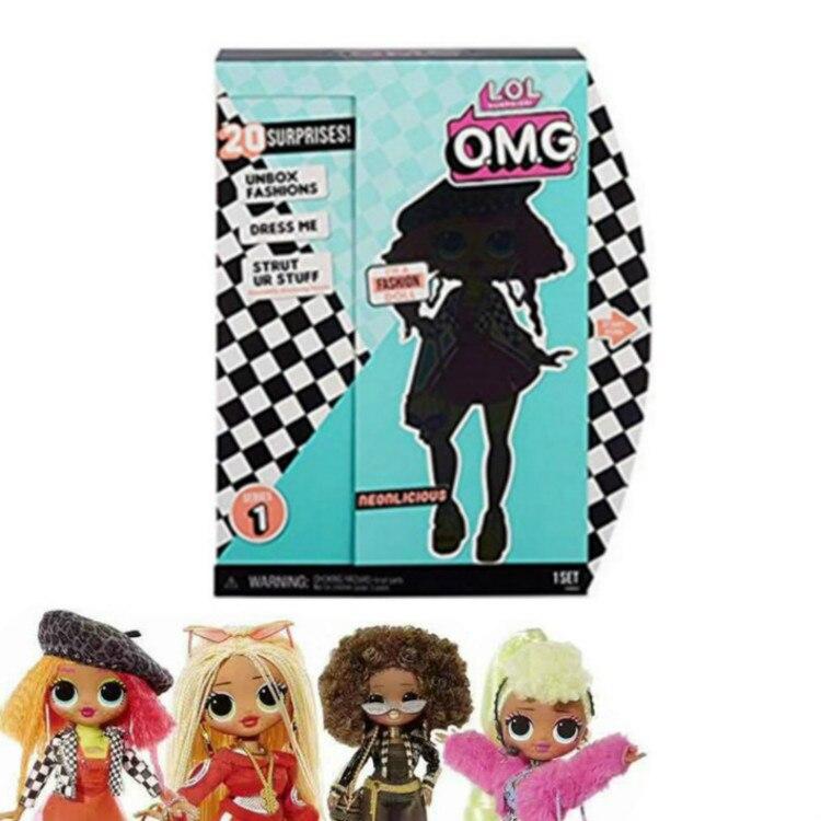 LOL Surprises Dolls Girls Lol Dolls Toys Originales Oversized LOLs OMG Dolls Blind Box Gift For Girls Surprise Toys Birthday