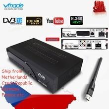 Newest Full HD Digital Terrestrial DVB T2 K6 scart/AV TV Tuner HD 1080p H.265 /