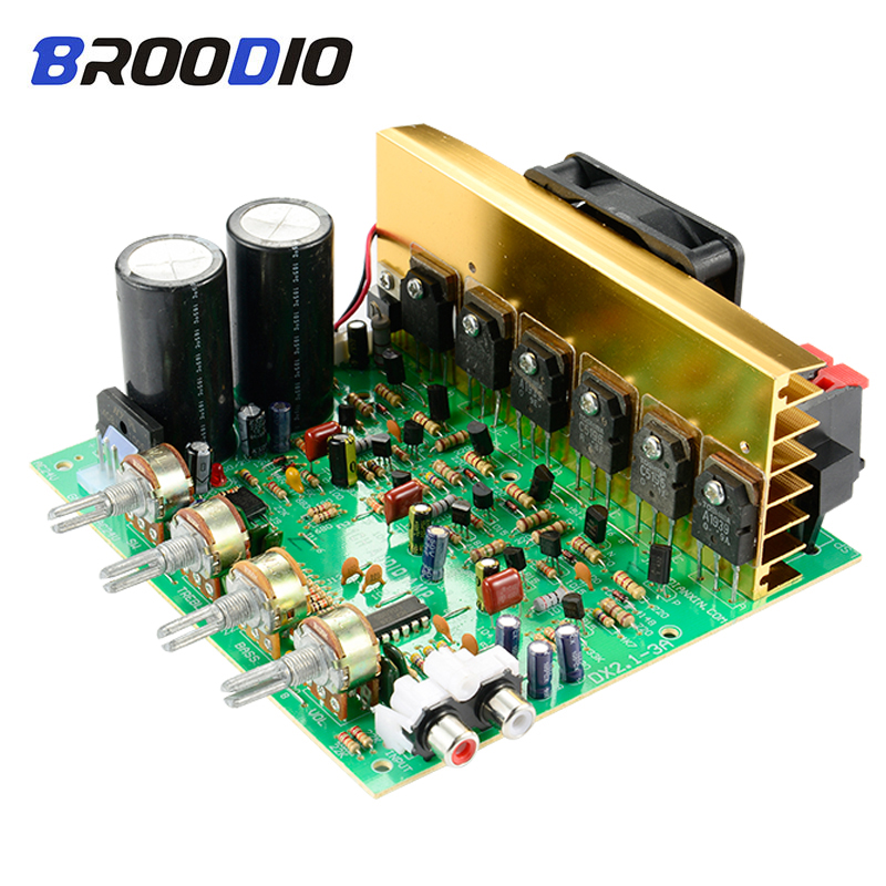 Subwoofer Audio <font><b>Amplifier</b></font> Board <font><b>2.1</b></font> Channel 240W High Power <font><b>Amplifier</b></font> Board AMP Dual AC18-24V DIY HIFI Stereo AMP Home Theater image