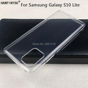 """Ультратонкий Мягкий ТПУ силиконовый гелевый прозрачный защитный чехол для камеры для samsung Galaxy S10 Lite 6,7"""""""