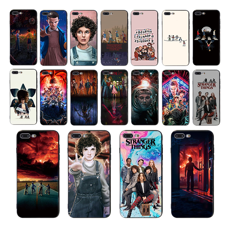 TV series Stranger Things soft phone cover for iphone 8 7 6s 6 plus x xr 11 pro xs max case 5s se 5 high quality TPU shell Coque(China)