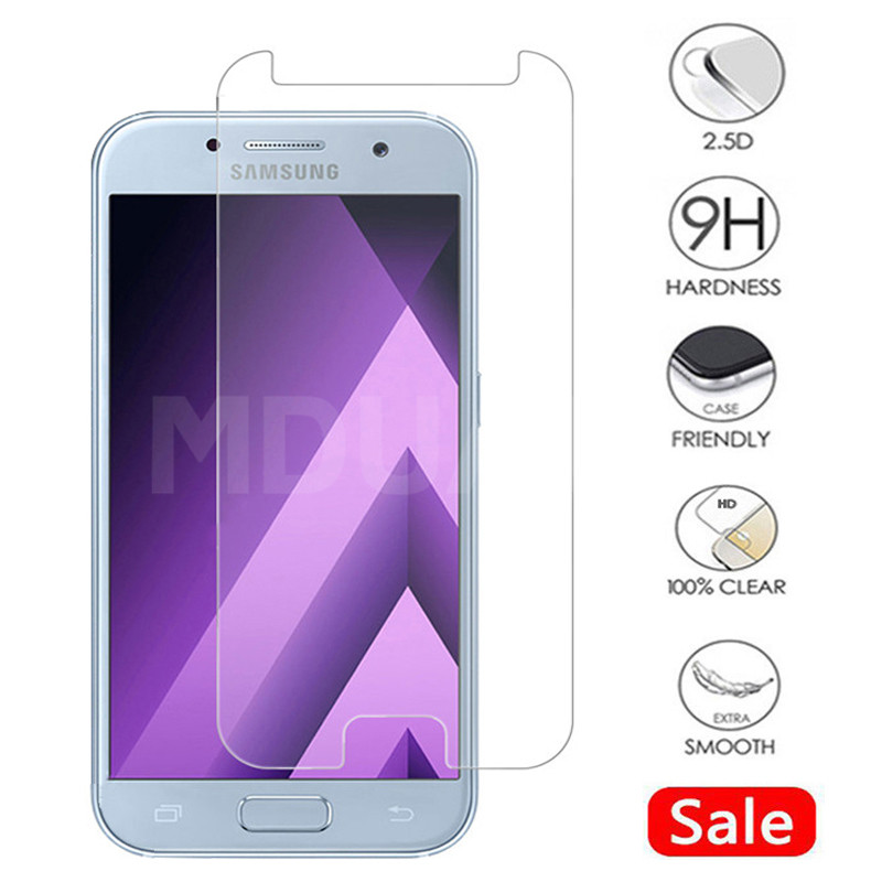 9H Tempered Glass On For Samsung Galaxy J3 J5 J7 2016 2017 J4 J6 2018 Screen Protector For Samsung J2 J4 J7 Core Protective Film