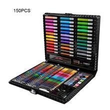 150 шт./168 шт. для рисования для детей для рисования набор для детей набор для рисования водой Цвет ручка карандаш масляная пастель картина инс...