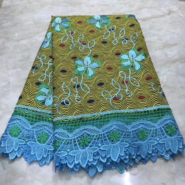 Veritable Wax Dutch Guaranteed Real Dutch Wax High Quality Pagne Wax Dutch 6yards African Ankara Sewing Fabric  Print