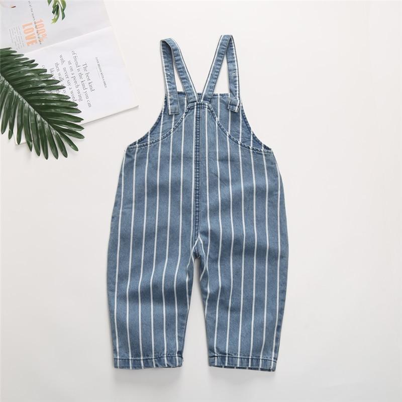 0 4T Newborn Children Kids Overalls Harem Pants Baby Boys Girls Blue Denim Overalls Infant Jumpsuits Baby Clothing Girls Overall in Overalls from Mother Kids