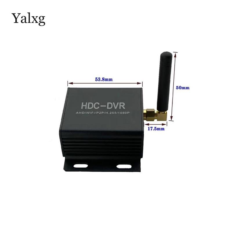 Mini AHD/TVI/CVI HDC DVR Wifi Network Camera H.265 Recorder Support 720P/1080P Camera Max