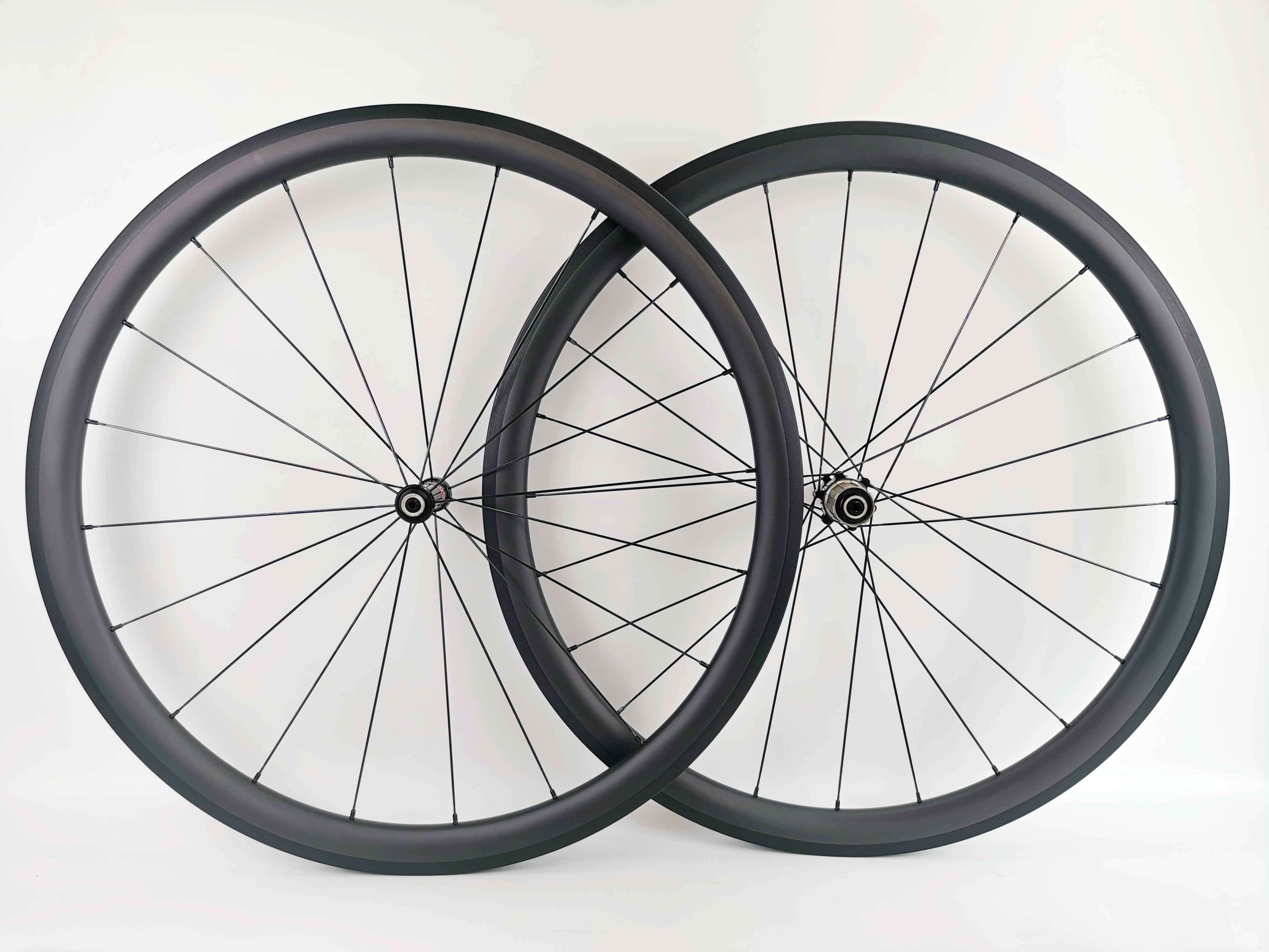 700C 38mm depth road bike carbon wheels 25mm width clincher Tubular bicycle Ultra light carbon wheelset