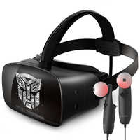 """ANTVR VR Headset 2K Virtual Reality 3D Glasses For PC Work with SteamVR Cyclop 5.5""""Dual OLED Helmet virtual pc glasses"""
