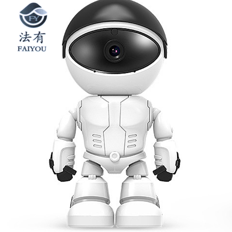 Wireless Robot Camera WIFI IP CCTV Cam Baby Monitor Support P2P Remote Surveillance HD H.264 IR Night Vision for Android or IOS 1