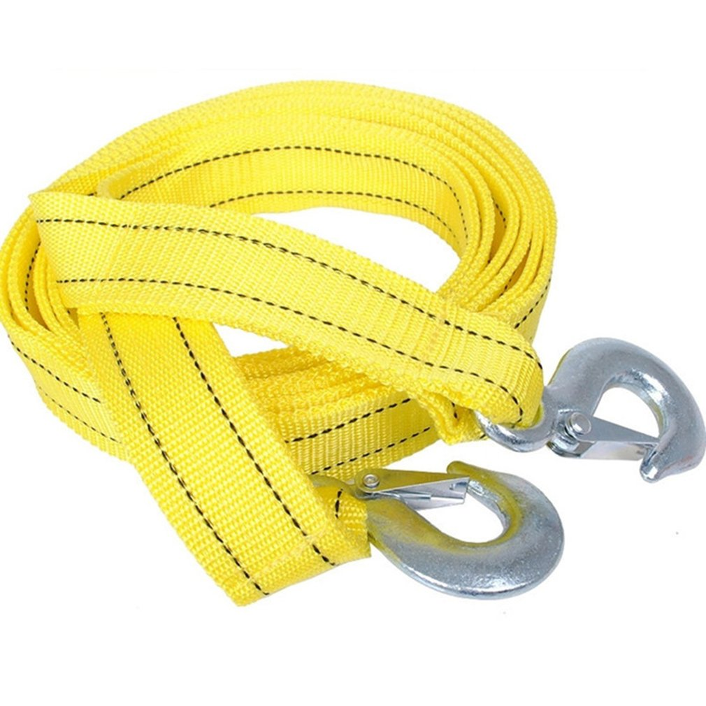 4m 5 Tons Tow Rope Double Thick Trailer Belt For Pull Car Traction Rope