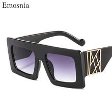 2020 Fashion Audrey Super Square Sunglasses Rivets Vintage Women Sun Glasses Lux