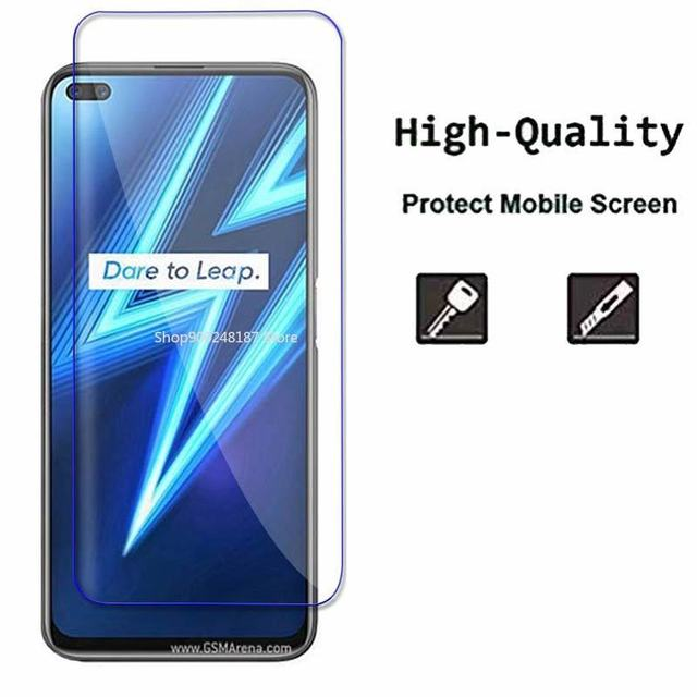 Realme6pro Tempered Glass For Oppo Realme 6 7 Pro 6 6i 7i Back Camera Glass Screen Protector On Realmi 6 Pro Front Safety Hard 2