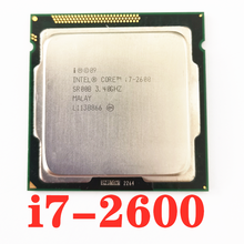 original used Intel Core i7 2600 3.4GHz Quad Core Processor 8MB 5GT/s SR00B LGA 1155 cpu desktop CPU