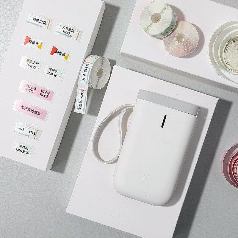 Беспроводной Карманный принтер для этикеток D11, портативный мини принтер с Bluetooth, термопринтер для быстрой печати, для дома и офиса|Принтеры| | АлиЭкспресс