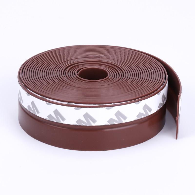Клейкая силиконовая резиновая уплотнительная лента, уплотнитель для ДНА двери и окна, Ширина 25 мм, 3, 5, 10 м