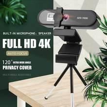 1080p 2k 4k webcam com microfone conferência webcam autofoco usb web camera desktop para escritório reunião casa webcam hd completo