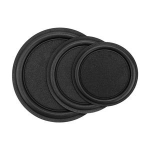 Image 1 - AIYIMA 2Pcs 5 6 8 Inch Woofer Speaker Passive Radiator Sponge Edge Diaphragm Auxiliary Strengthen Bass Vibration Membrane