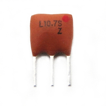 10pcs/lot Ceramic Resonators DIP-3 filters LT10.7M 3P 10.7MHZ ZTT10.7M ZTT10.7 In Stock - discount item  8% OFF Active Components
